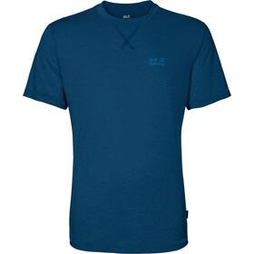 Jack Wolfskin Crosstrail Kortærmet T-shirt Herrer blå